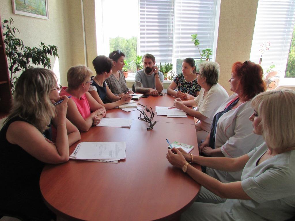 Засідання об'єднаного відділу МіО ТБ/ВІЛ