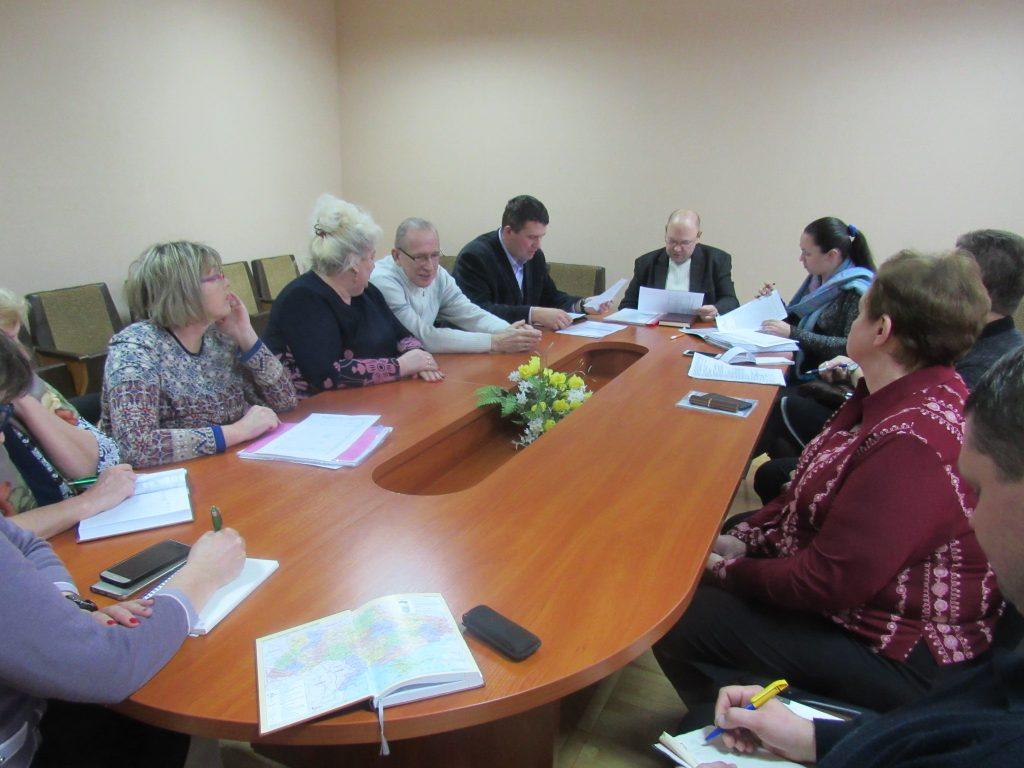 На черговому засіданні оперативного штабу в Управлінні охорони здоров'я облдержадміністрації, яке відбулося 01 лютого, обговорювалася ситуація щодо поширеності грипу та ГРВІ в області