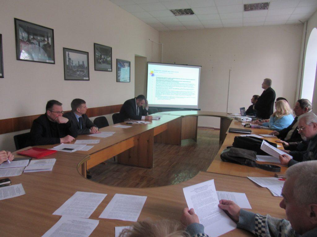 Громадська рада при облдержадміністрації обговорила  проблеми медичної галузі
