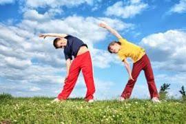 Помірні фізичні вправи та загартовування – основа здоров'я