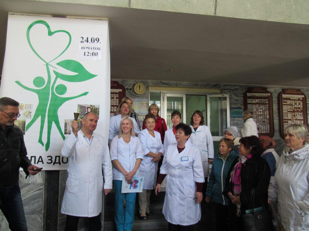 Вчимося не хворіти! 24вересня у КНП «Чернігівська міська лікарня№2» працювала «Школа здоров'я».