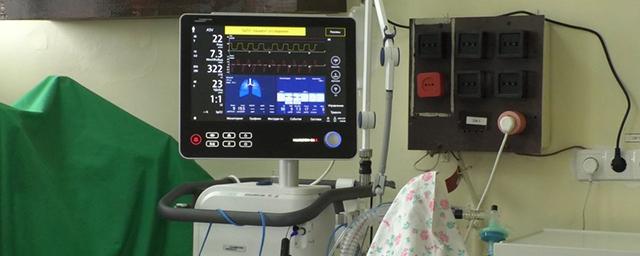 Медики Корюківки отримали унікальний сучасний апарат штучної вентиляції легень.