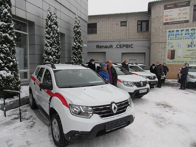 Первинна ланка Чернігівщини отримала нові автівки