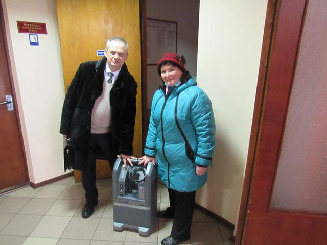 До медичних закладів Чернігівщини надходить кисневе обладнання.