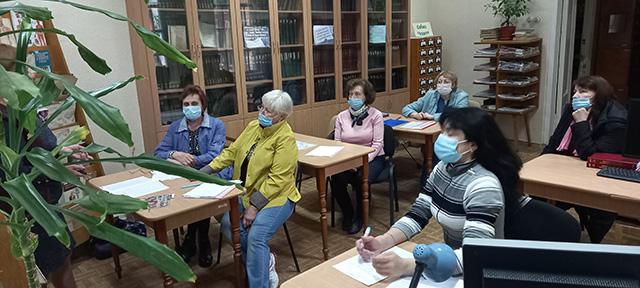 Бібліотечні працівники медичних закладів області пройшли атестацію