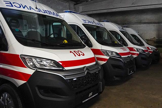 14 нових карет «швидкої» надійшли до обласного центру екстреної медичної допомоги.